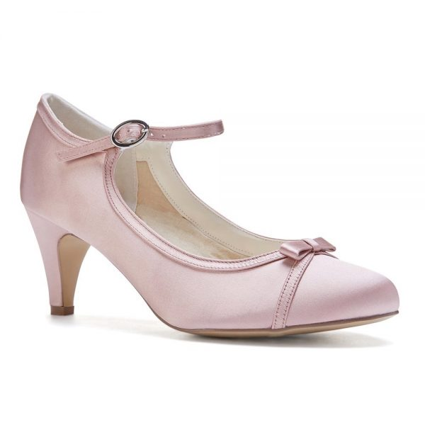 Pink Paradox April - Blush Low Heel Mary Jane