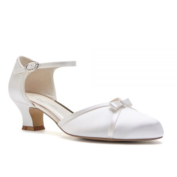 Pink Paradox Annabelle - Dyeable Low Heel Two-Part Court Shoe