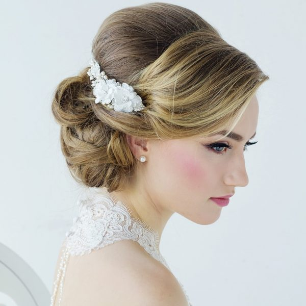 Annabelle Fabric Wedding Comb