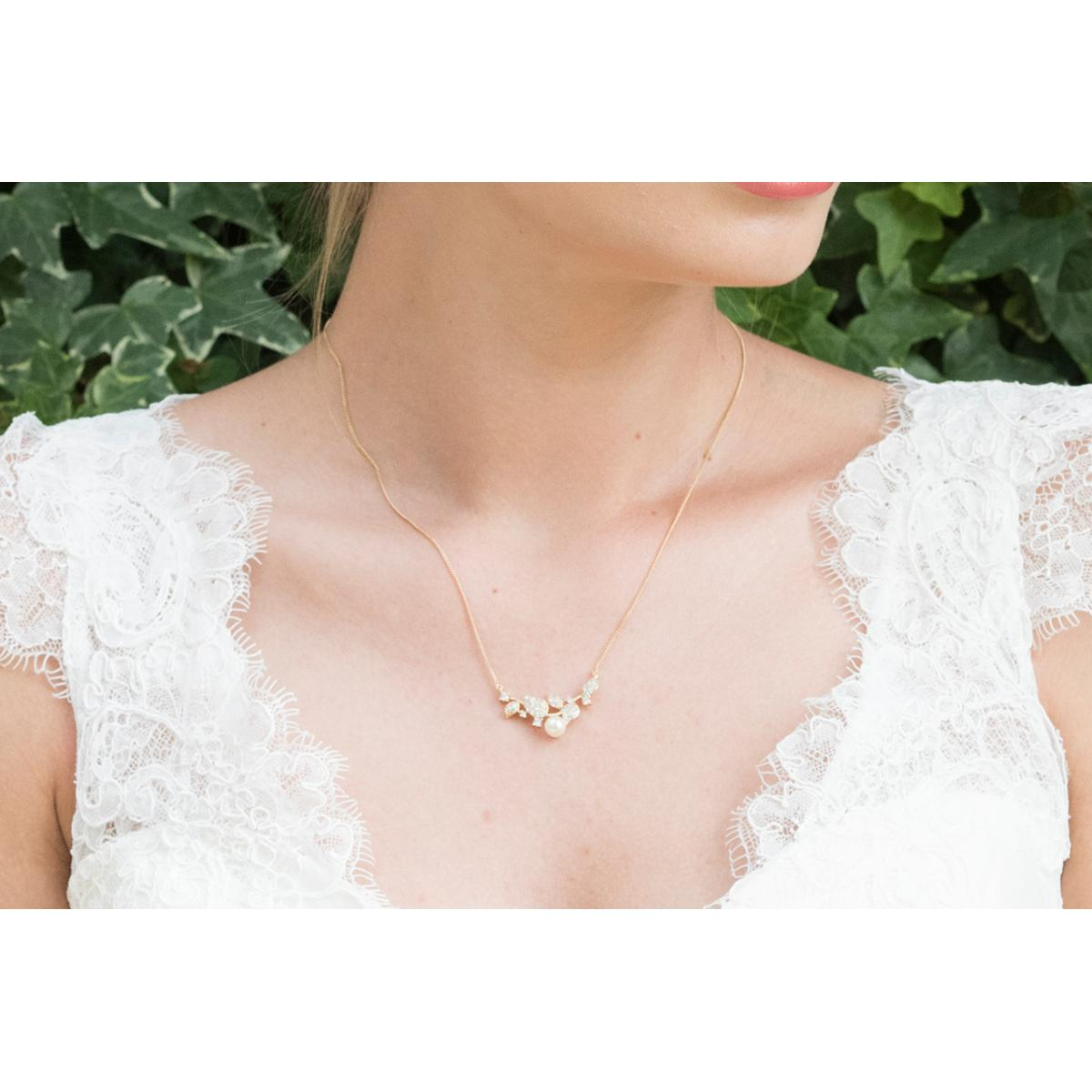 Ivory and Co Aphrodite Gold Pendant