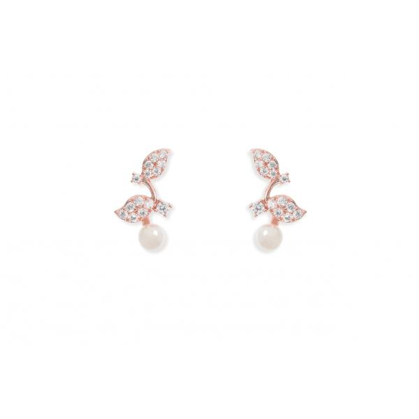 Ivory & Co Aphrodite Rose Earrings