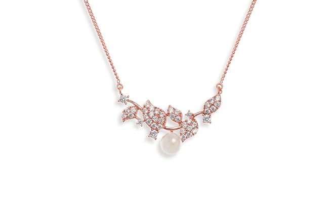 Ivory & Co Aphrodite Rose Pendant