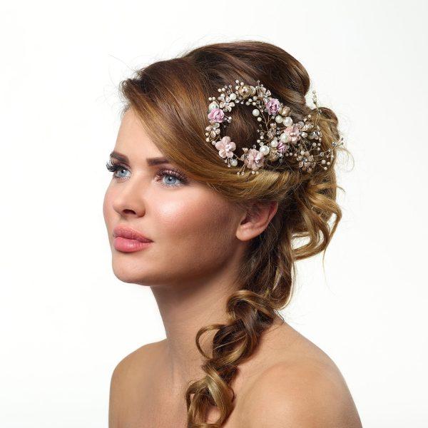 Poirier Argon Hair Comb Rosa