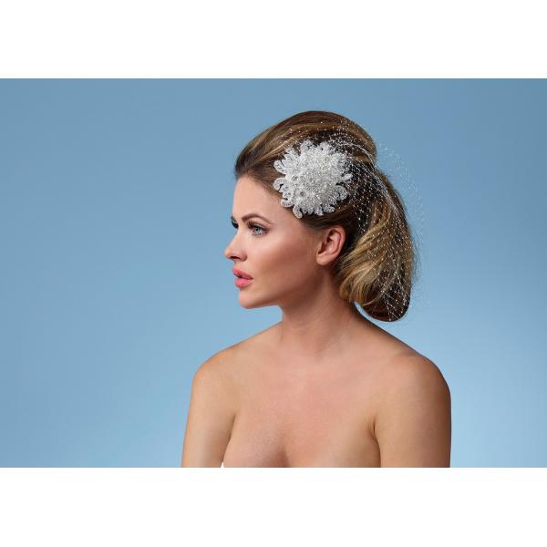Poirier Ariana Fascinator with Net