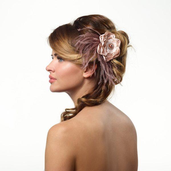 Poirier Avant Flower Hair Corsage