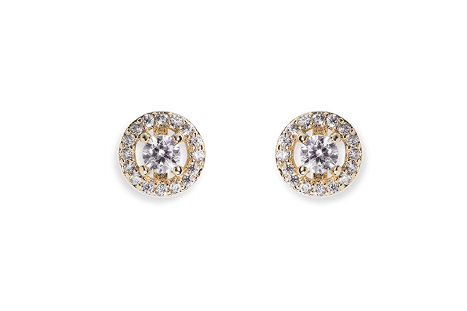 Ivory and Co Balmoral Gold Earrings