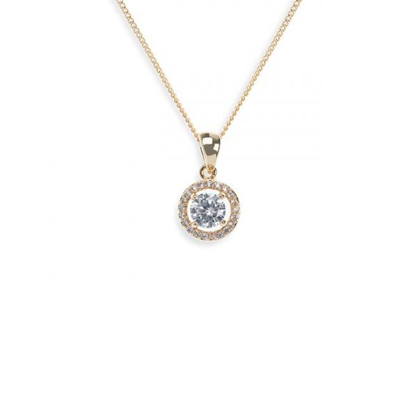 Ivory and Co Balmoral Gold Pendant