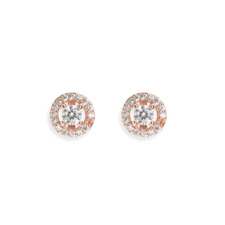 Ivory & Co Balmoral Rose Earrings