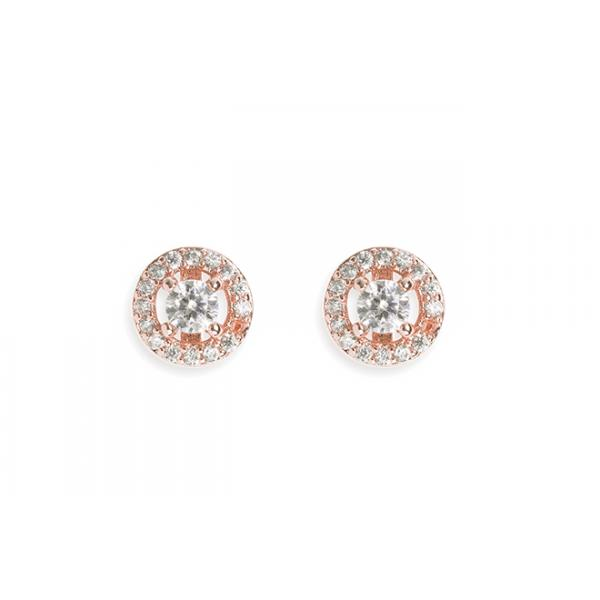 Ivory and Co Balmoral Rose Earrings