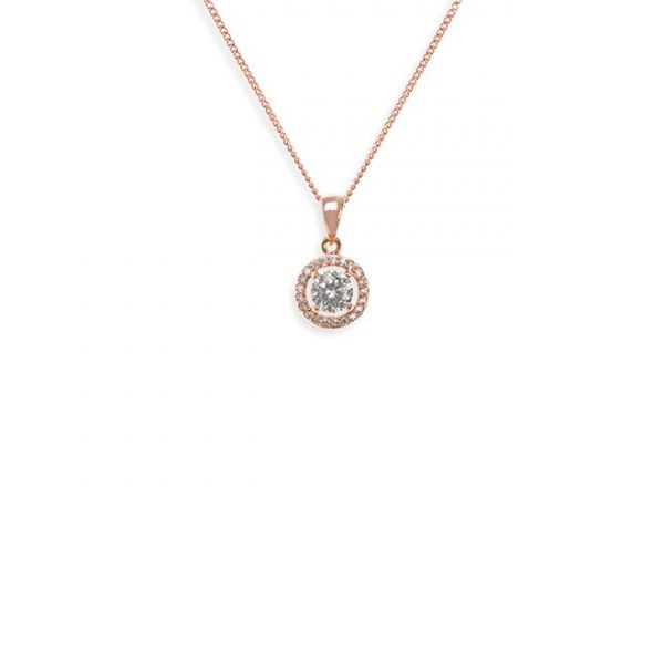 Ivory and Co Balmoral Rose Pendant
