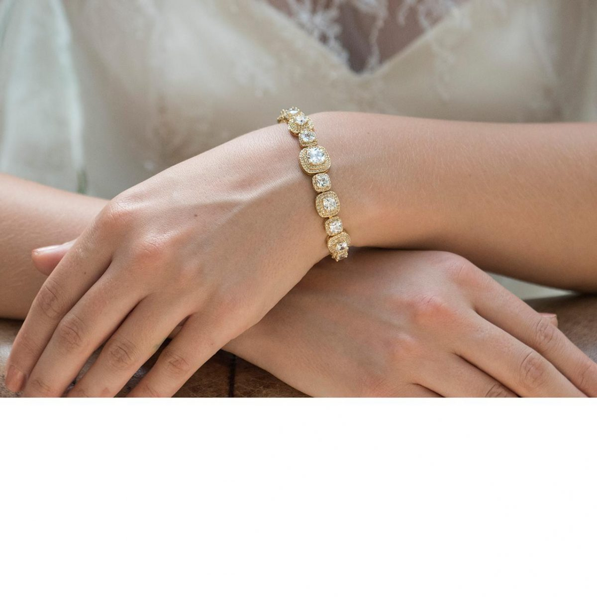 Ivory and Co Belize Gold Bracelet