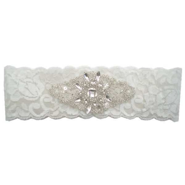 Bella Crystal Bridal Garter