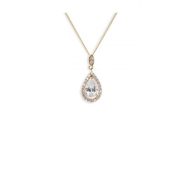 Ivory and Co Belmont Gold Pendant