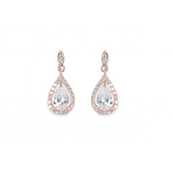 Ivory & Co Belmont Rose Earrings