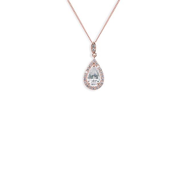 Ivory and Co Belmont Rose Pendant