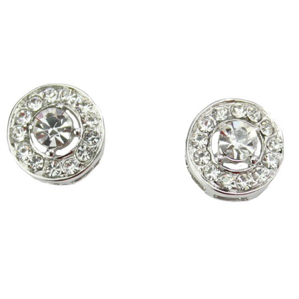 Bourgeois Crystal Stud Earrings