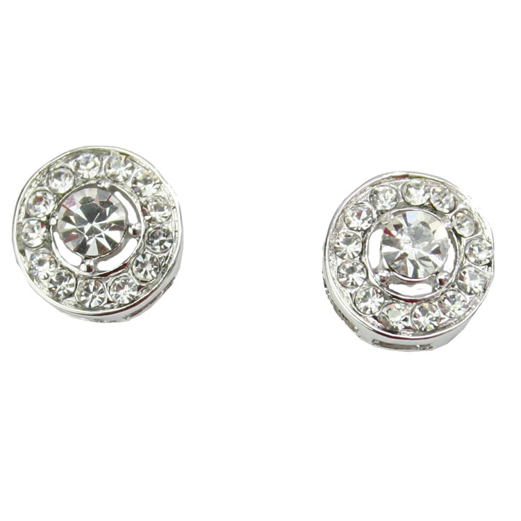 Bourgeois Crystal Stud Earrings
