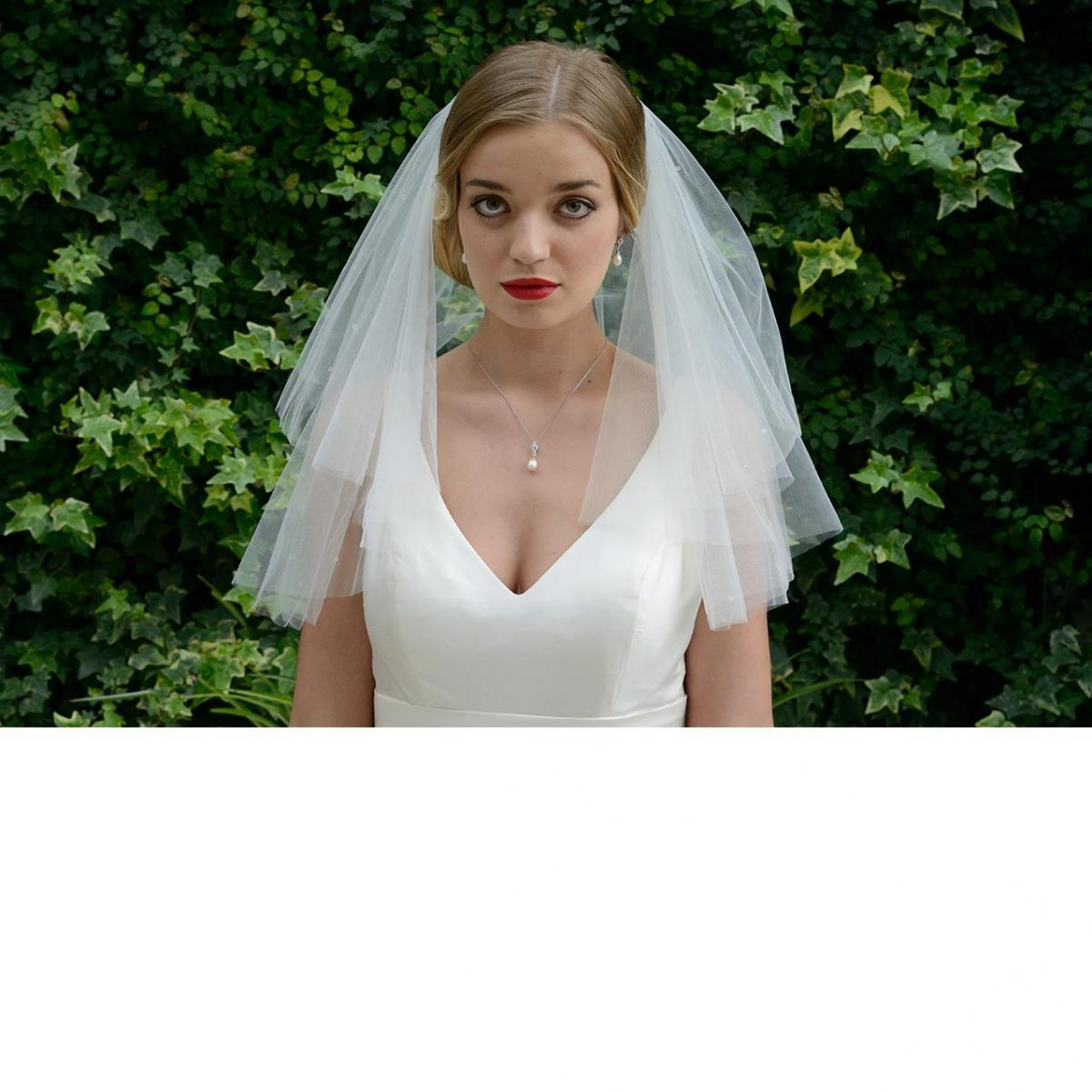 Ivory and Co Brooklyn Veil