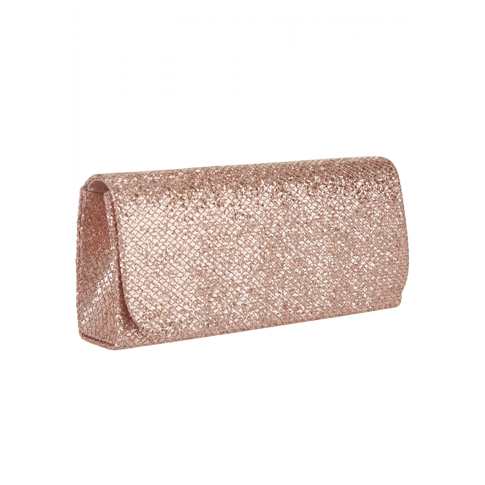 Mascara Rose Gold Snake Clutch Bag
