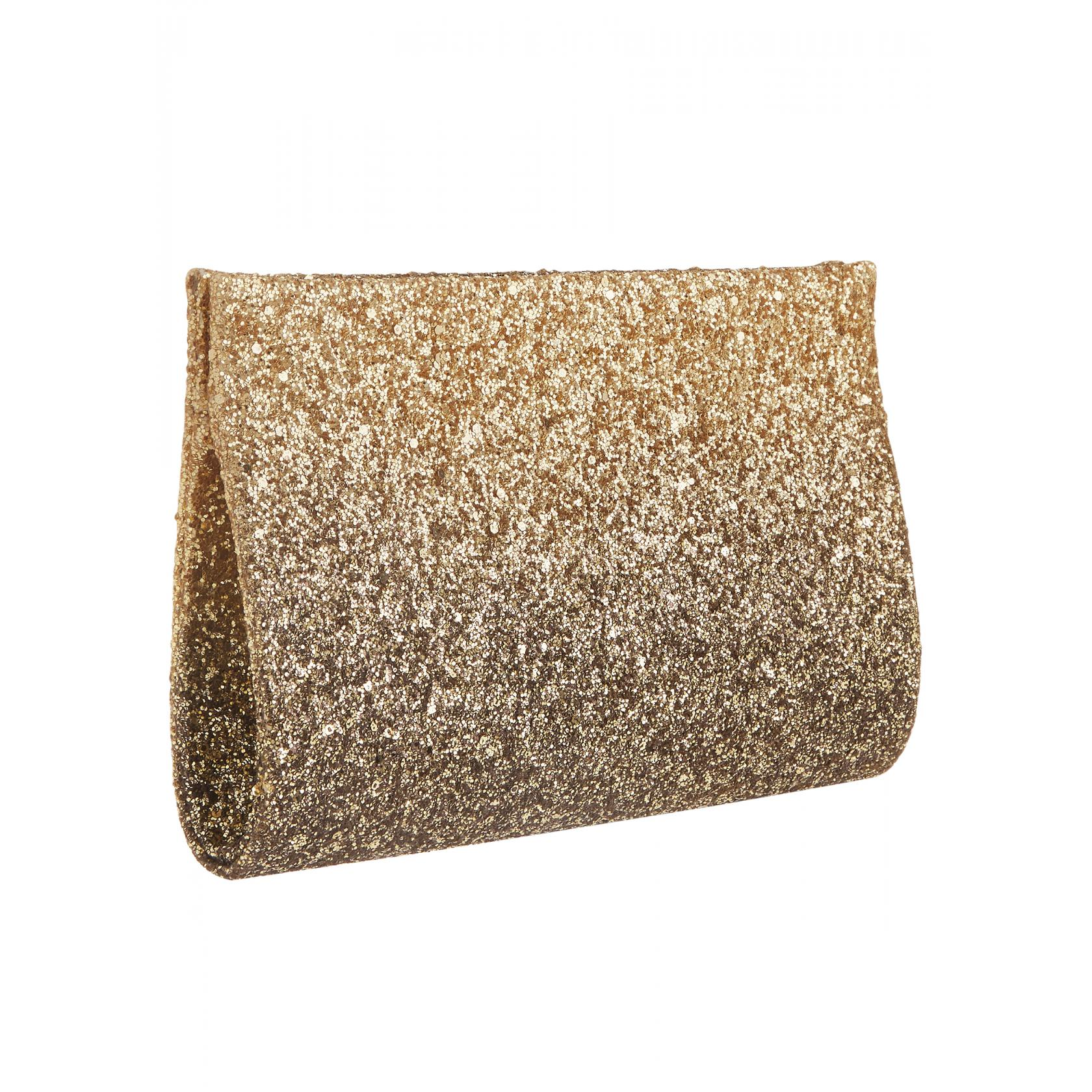 Mascare Gold Ombre Clutch Bag