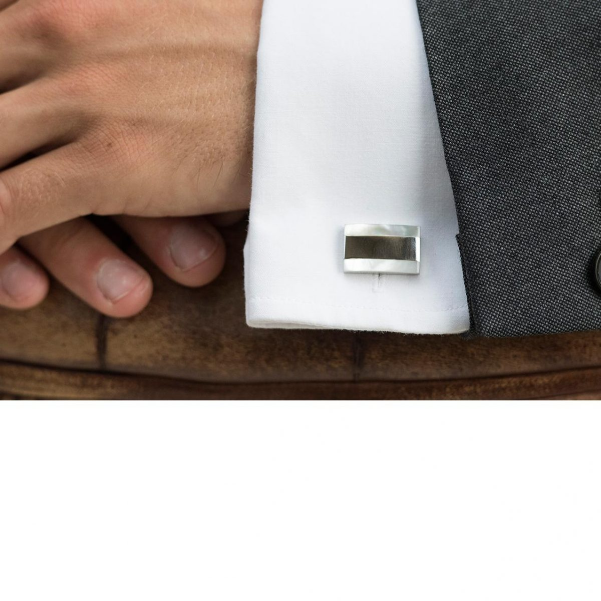 Ivory and Co Cavendish Cufflinks