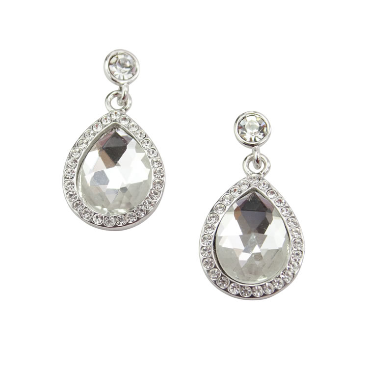 Chardonnay Crystal Earrings