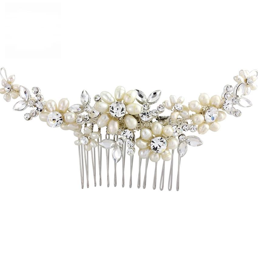 Chloe Pearl Wedding Comb