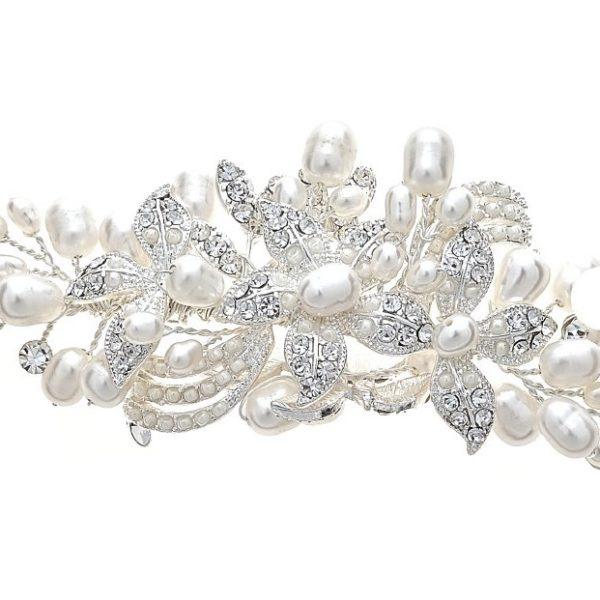 David Tutera Millie Pearl Bracelet