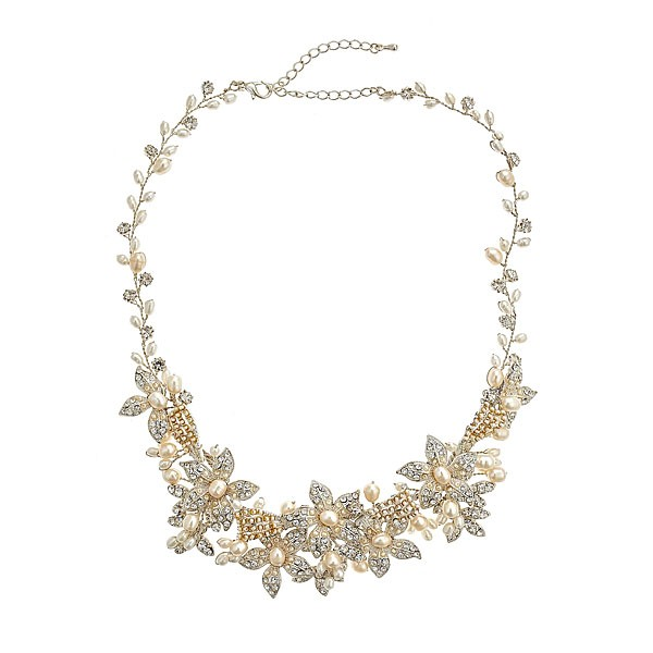 David Tutera Millie Pearl Necklace