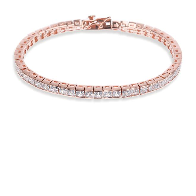 Ivory and Co Elegance Rose Gold Bracelet