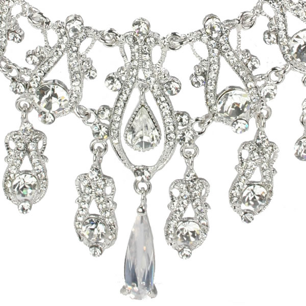 Elena Swarovski Luxe Bridal Necklace Set
