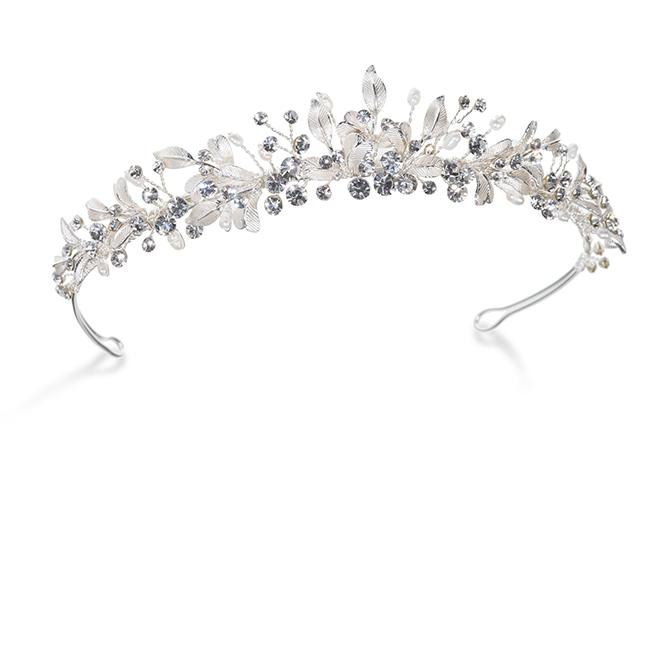 Ivory and Co Elva Pearl Tiara
