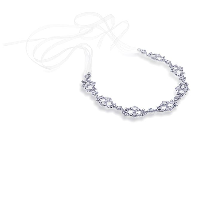 Ivory and Co Emmeline Silver Hairvine