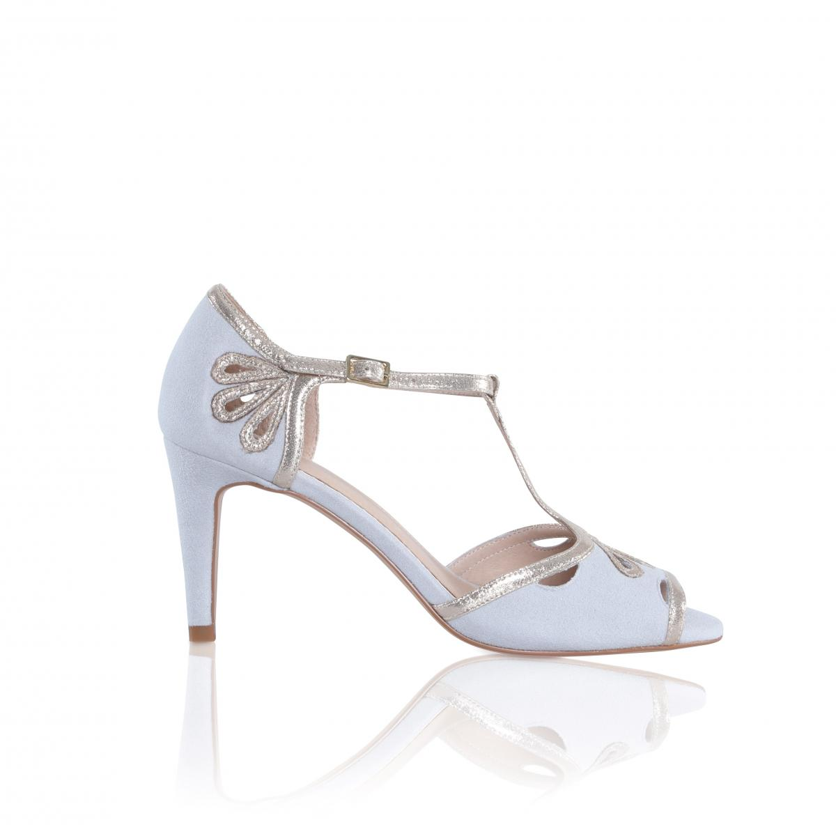 Perfect Bridal Esme Ultrasuede/Shimmer