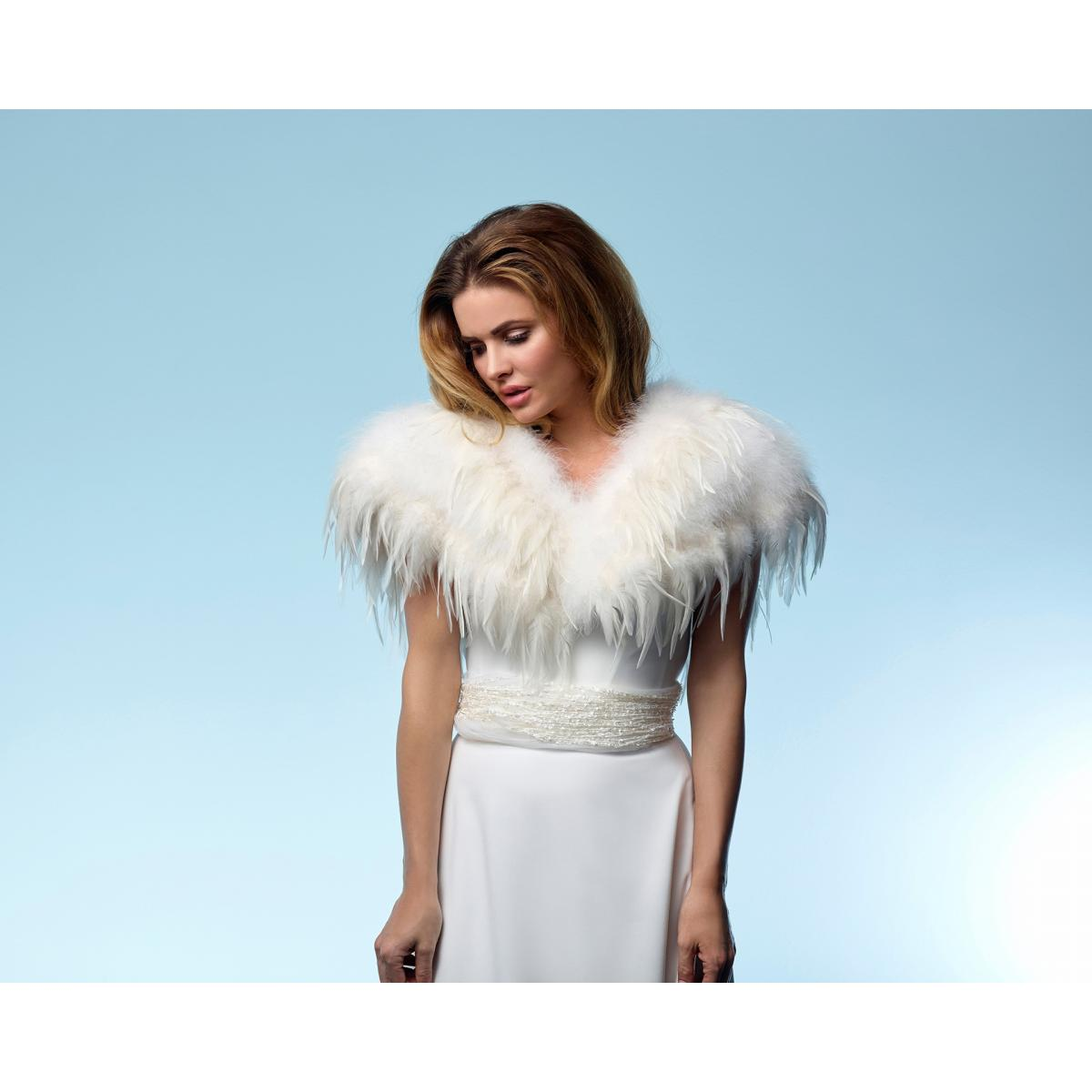 Poirier Exquisite Marabou Feather Collar