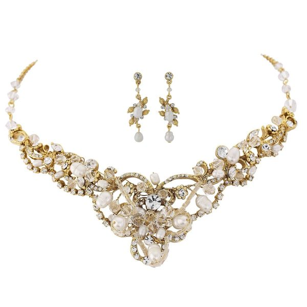 Exquisite Treasure Gold Bridal Jewellery Set