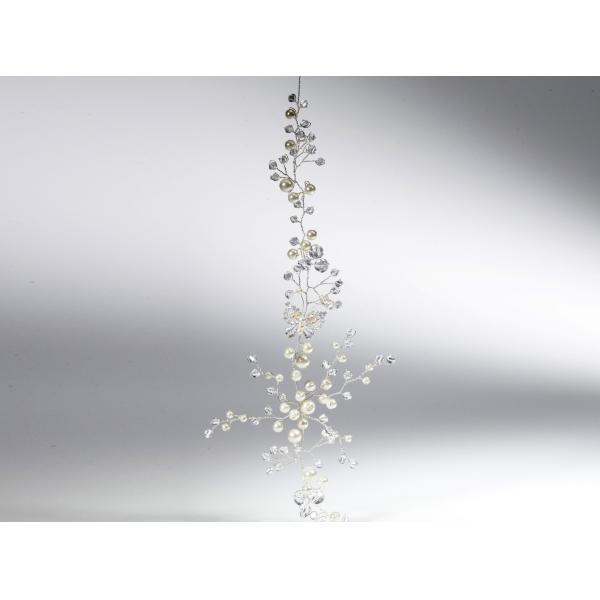 Poirier Fairie Crystal/Pearl Hairvine