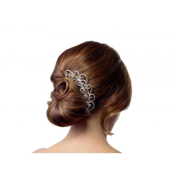 Poirier Faline Strass Stone Haircomb