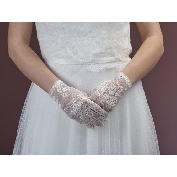 Poirier Flavia Short Lace Glove