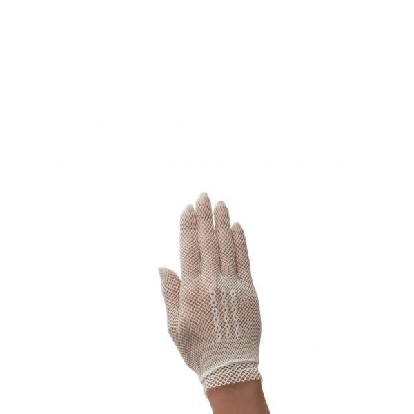 Poirier Foxglove Net Glove - Ivory
