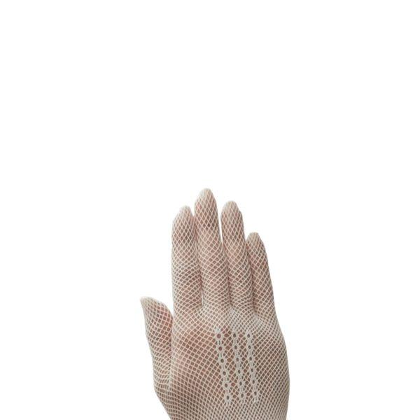 Poirier Foxglove Net Glove - White
