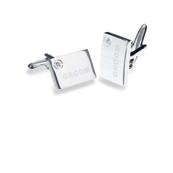 Ivory and Co Groom Cufflinks