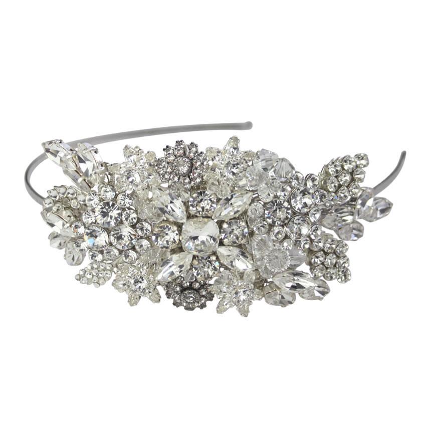 Halo and Co Betsey Bridal Headband