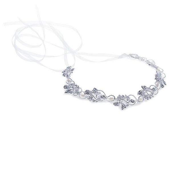 Ivory and Co Isla Silver Hairvine