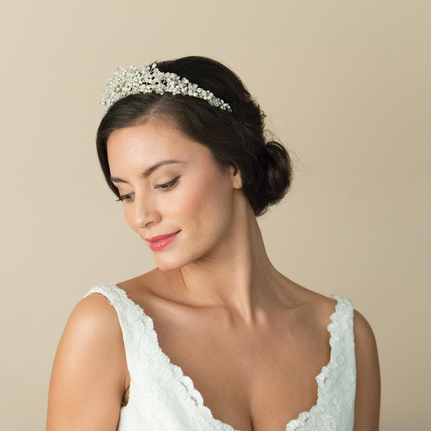 Ivory and Co Esmerelda Gold Tiara