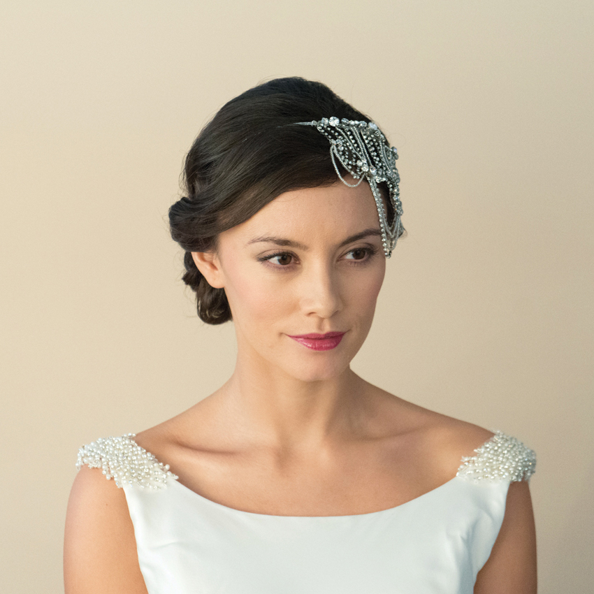 Ivory and Co Lottie Draping Bridal Headband