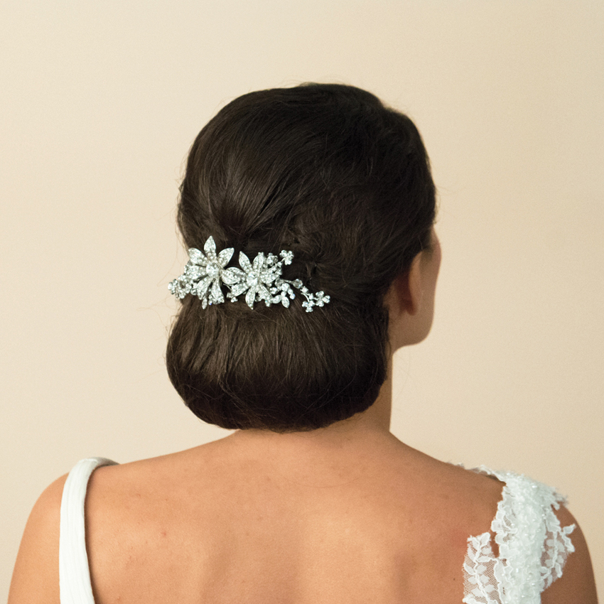 Ivory and Co Lotus Hair Comb