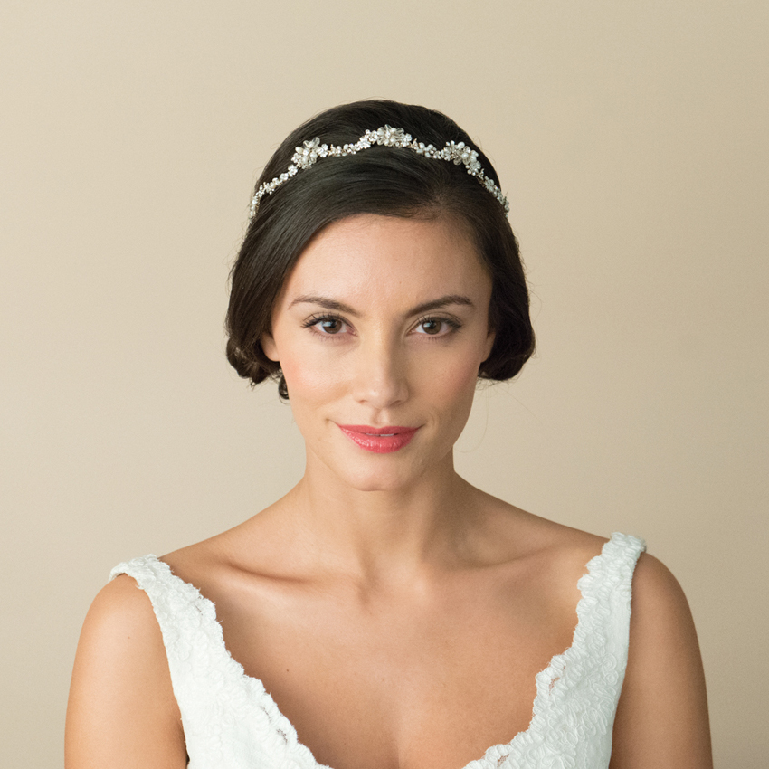 Ivory and Co Lynette Gold Headband