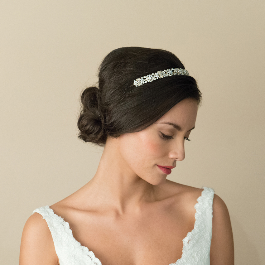 Ivory and Co Marielle Gold Tiara Band