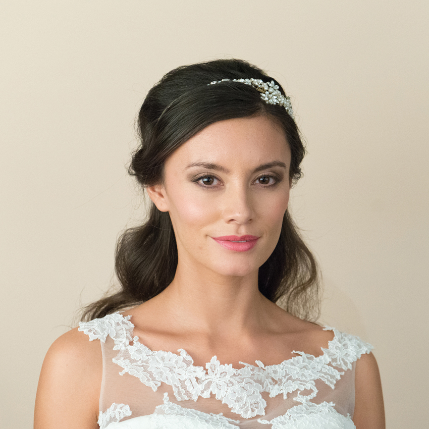 Ivory and Co Safiya Gold Headband